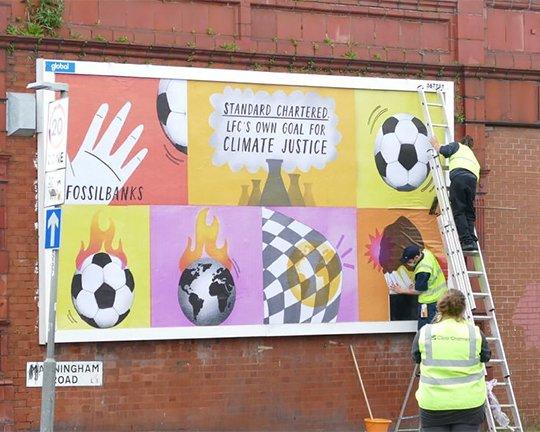 Standard Chartered billboard
